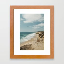Crystal Cove, California Framed Art Print