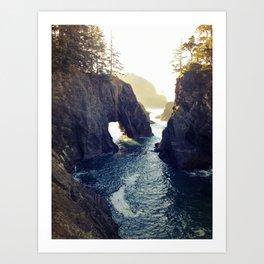 Natural Bridges Art Print