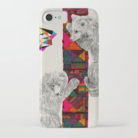 kris tate iPhone & iPod Cases featuring The Innocent Wilderness by Peter Striffolino and Kris Tate by Peter Striffolino