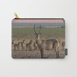 The Waterbuck and his Ladies Carry-All Pouch