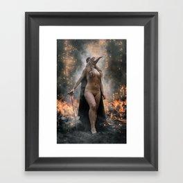 Destroyer Framed Art Print