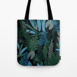 Tropical Night Tote Bag