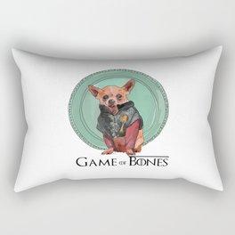 Game of Bones Tirian as a Chihuahua Rectangular Pillow