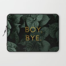 Boy, Bye - Vertical Laptop Sleeve