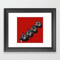 posizione Framed Art Print