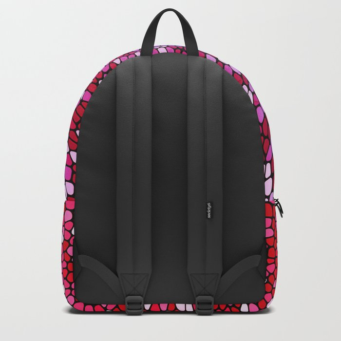 THINK TEAL AND PINK Backpack