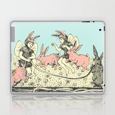 Frolicking Bunnies Laptop & iPad Skin
