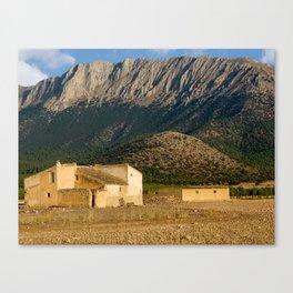 Parque Natural De Sierra Maria-Los Velez Canvas Print
