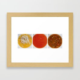 All American Ingredients - Cambell's Framed Art Print