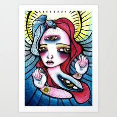 Spindle Art Print