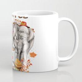 I Like Coffee And Maybe 3 People Elephant Lover Womens Gift T-Shirt Coffee Mug