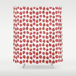 Fraises Shower Curtain