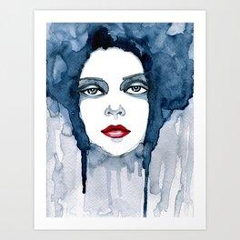 Bluebell Art Print