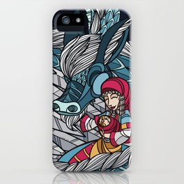 Cool Night, Happy Family iPhone Case