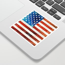 American Flag Art - Old Glory - By Sharon Cummings Sticker