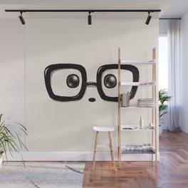 Panda Eyes Wall Mural