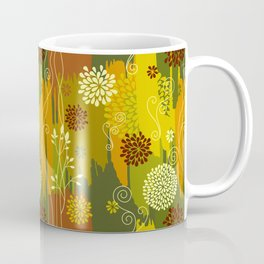 Boho Floral Pattern Var. 4 Coffee Mug
