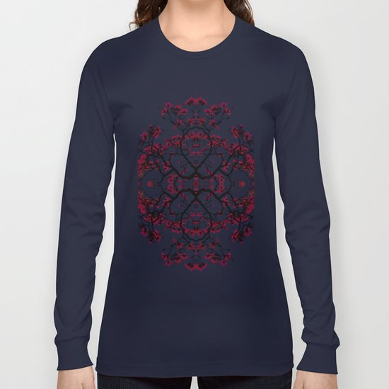 magnolia silhouette Long Sleeve T-shirt