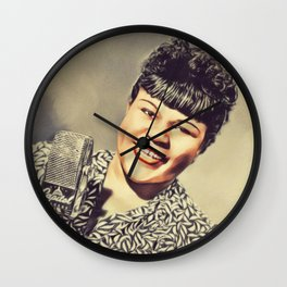 Julia Lee, Music Legend Wall Clock