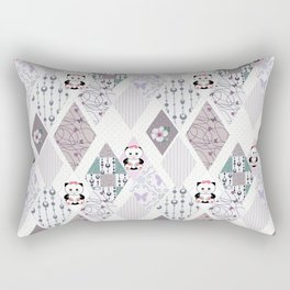 The pattern for children . Kittens . Rectangular Pillow