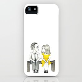 La La Land - Sebastian and Mia iPhone Case