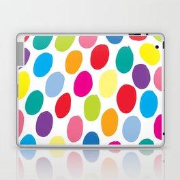 Colour Spots White Laptop & iPad Skin