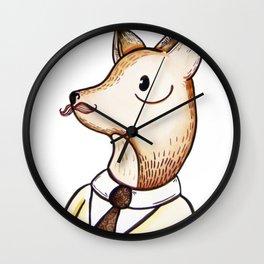 Master Fox Wall Clock