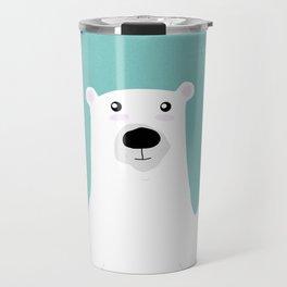 Paul the Polar Bear Travel Mug