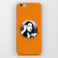 alex vause iPhone & iPod Skins featuring Alex Vause - OITNB Character by Sandi Panda