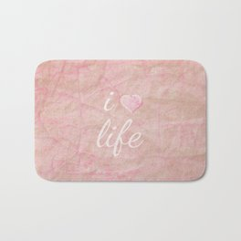 I HEART LIFE Bath Mat