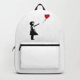 Banksy - Girl With Balloon Backpack