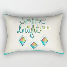 Shine Bright Like A Diamond Rectangular Pillow