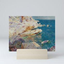 Joaquin Sorolla y Bastida, Rocks of Javea, 1905 Mini Art Print