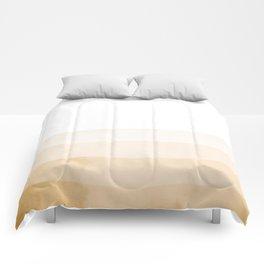 Dip Dye - Orange Comforters