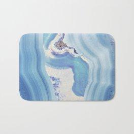Bound in Blue Bath Mat