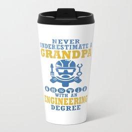 Engineering Grandpa Travel Mug