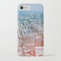 toronto iPhone & iPod Cases featuring Toronto by Sami Kelsh