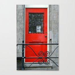Door Series - Red Door Canvas Print