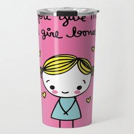 Girl Boner Travel Mug