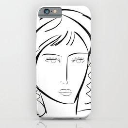 Portrait imaginaire iPhone Case