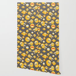 Emoji Pattern 5 Wallpaper