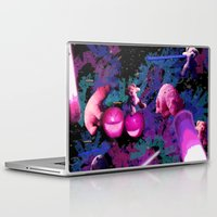 rave Laptop & iPad Skins featuring Apple Rave by Sabrina Kee