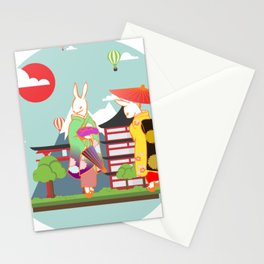 Year of The Rabbit Stationery Cards