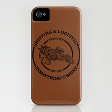 SERENITY SHIPPING AND LOGISTICS iPhone (4, 4s) Slim Case
