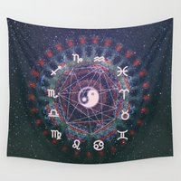 trippy Wall Tapestries featuring Trippy by Sara Eshak