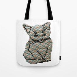 Loving Cat Sitting Pretty Tote Bag