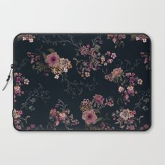 Japanese Boho Floral Laptop Sleeve