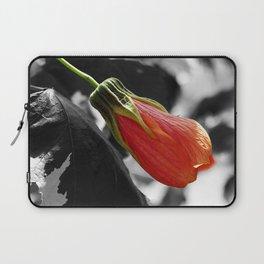Hibiscus Bud Laptop Sleeve