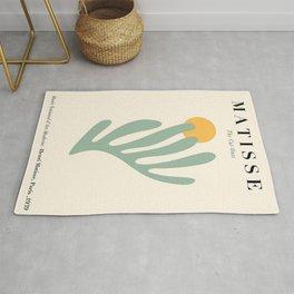 Henri Matisse Art minimal poster cut outs Rug