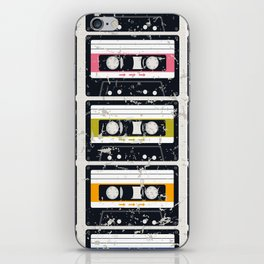 Cassette Tapes iPhone Skin